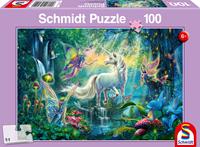 schmidt Mythisch koninkrijk 100 stukjes - Puzzel