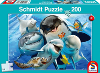 schmidt Onderwater Vrienden 200 stukjes - Puzzel