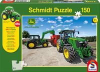schmidt 5M series tractors 150 stukjes - Puzzel