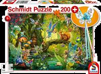 schmidt Feeen in het Bos 200 stukjes - Puzzel