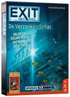 999 Games EXIT - De Verzonken Schat - Breinbreker