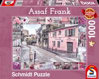 schmidt Romantische reis 1000 stukjes - Puzzel