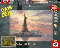 schmidt Statue of Liberty in the twilight 1000 stukjes - Puzzel
