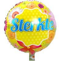Folie ballon Sterkte 46 cm met helium gevuld Multi