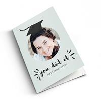 YourSurprise Geslaagd kaart met foto - - Staand
