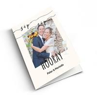 YourSurprise Felicitatiekaart huwelijk met foto - - Staand