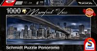 schmidt New York Donkere Nacht 1000 stukjes - Puzzel