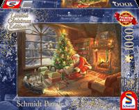schmidt Santa Claus is here Limited Edition 1000 stukjes - Puzzel
