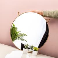 Balvi Kat spiegel - Goud
