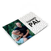 YourSurprise Bedankt ansichtkaart met foto