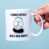 Nutcrackers Rick and Morty I Turned Myself Into A Mug mok