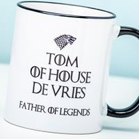 Nutcrackers Gepersonaliseerde Game Of Thrones Father of Legends mok