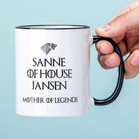 Nutcrackers Gepersonaliseerde Game Of Thrones Mother of Legends mok