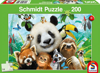 schmidt Dieren Plezieren 200 stukjes - Puzzel