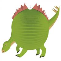 Amscan lampion Dino junior 25 cm papier groen