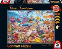 schmidt Beach Mania 1000 stuks - Puzzel