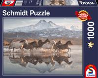 schmidt Paarden in Cappadocië 1000 stukjes - Puzzel