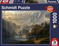 schmidt Idyllische Waterval 1000 stukjes - Puzzel
