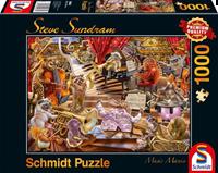 schmidt Music Mania 1000 stukjes - Puzzel