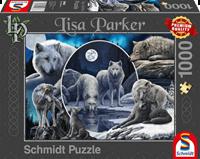 schmidt Prachtige Wolven 1000 stukjes - Puzzel