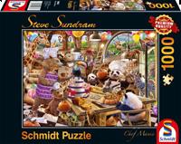 schmidt Chef Mania 1000 stuks - Puzzel