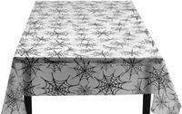 Boland tafelkleed spinnenweb 275 cm polyester wit/zwart