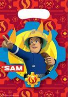 uitdeelzakjes Brandweerman Sam 8 stuks