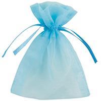 Haza Original uitdeelzakjes blauw 10 x 7,5 cm 10 stuks