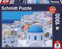 schmidt Santorini  Cyclades  1000 stukjes - Puzzel