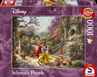 schmidt Disney  Dansen met de prins  1000 stukjes - Puzzel