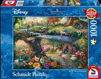 schmidt Disney Alice in Wonderland  1000 stukjes - Puzzel