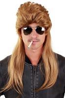 Coppens Pruik blond lang Bounty Hunter