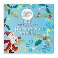 YourSurprise Boek met naam - Hoe Kerstavond werd gered - XXL (HC)