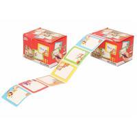 100x Sinterklaas cadeau stickers op rol - Feeststickers
