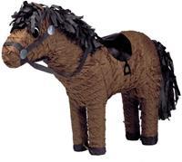 Amscan piñata paard bruin 52x42 cm