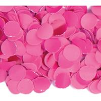 3x zakjes van 100 gram party confetti kleur fuchsia roze - Confetti