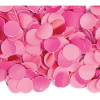 3x zakjes van 100 gram party confetti kleur roze - Confetti