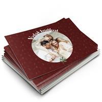 YourSurprise Kerstkaarten maken met foto - 12 enkele wenskaarten