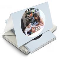 YourSurprise Kerstkaarten maken met foto - 10 dubbele wenskaarten