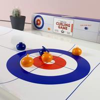 Kikkerland Curling Game Voor Op Tafel -