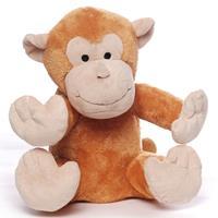 Merkloos Magnetron warmte knuffel orang oetan aap bruin 20 cm -