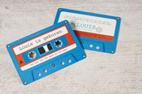 tadaaz Muzikale cassette kaartje