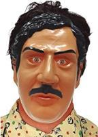 Fiestas Guirca gezichtsmasker Colombian Dealer latex bruin