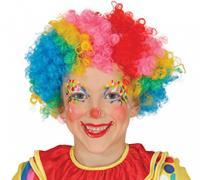 Fiestas Guirca verkleedpruik Clown junior one-size