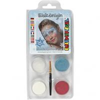 Karnevalsschminke Motiv-Set Eiskönigin