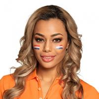 Boland schminkset Holland unisex rood/wit/blauw