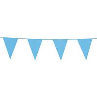 Slinger vlaggenlijn 10 m - Baby Blauw