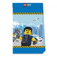 Papieren Party Bags Lego City 4st.