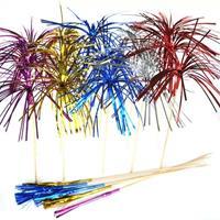Folieprikkers waaier 6 stuks verschillende kleuren