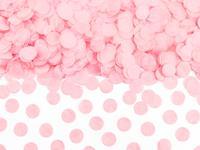 Papier confetti rond 1.6 cm 15 gr - Baby Roze